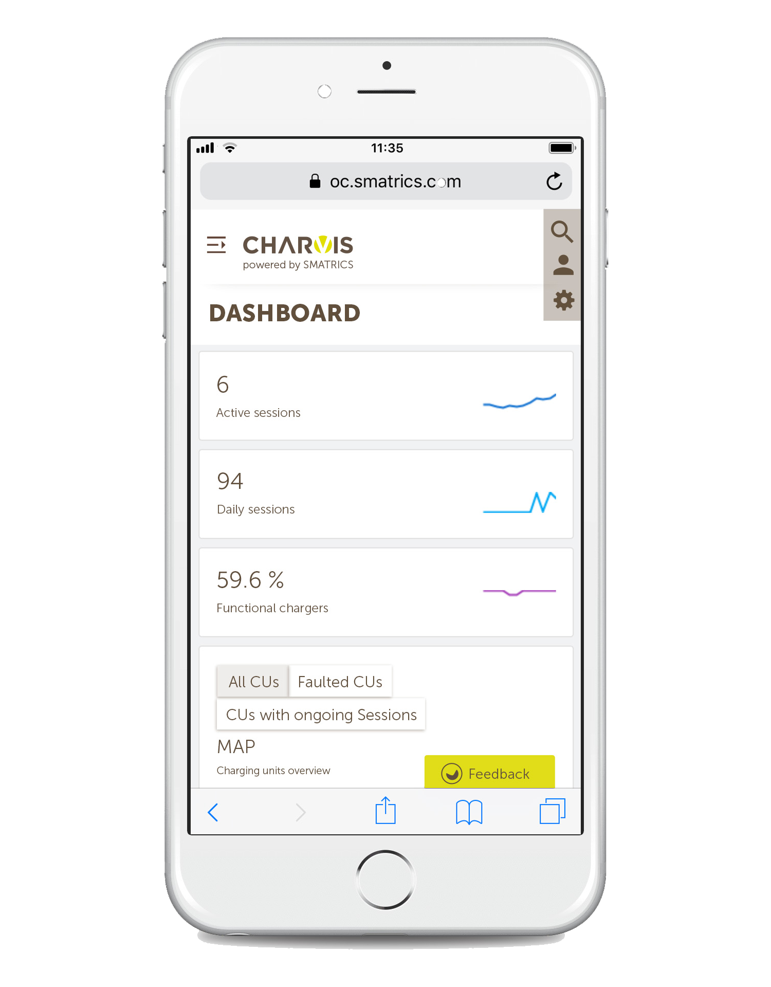 Charge Point Management System mit Sprachsteuerung