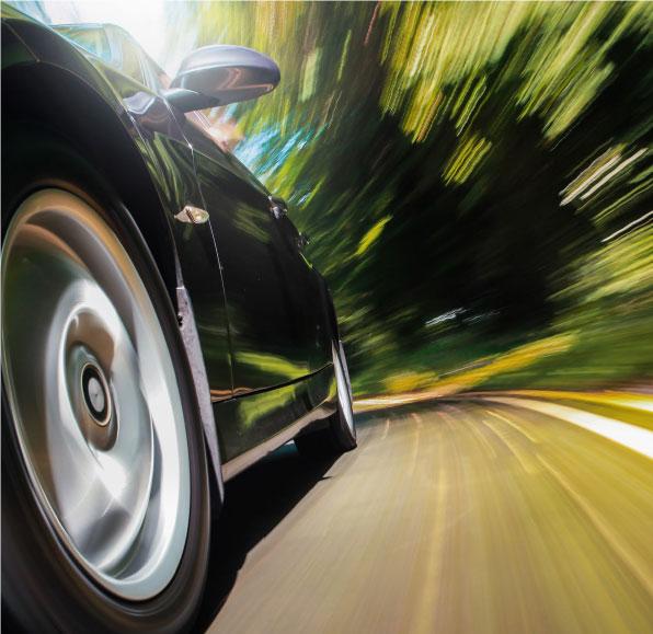 Bildausschnitt von E-Auto