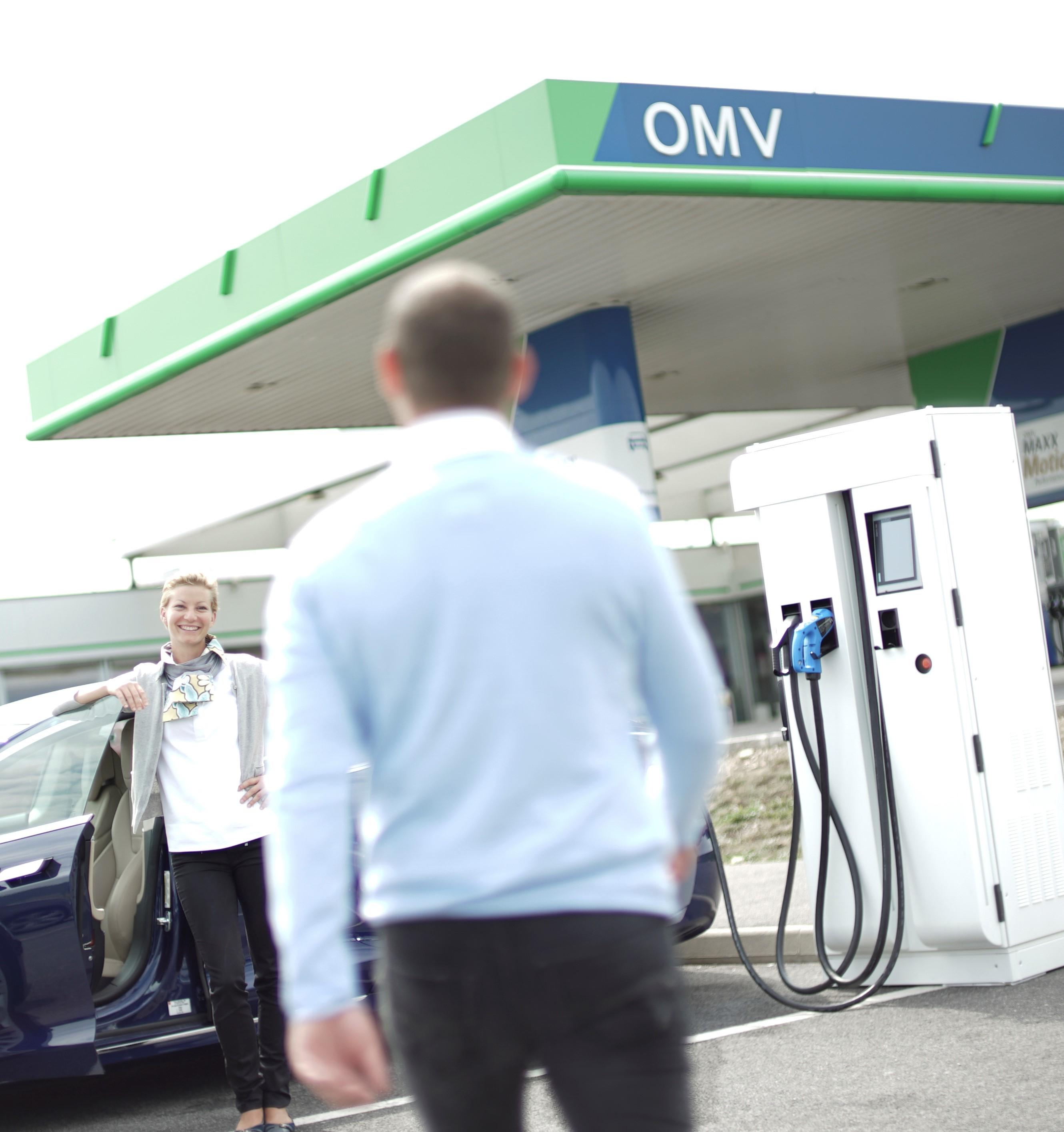 petrol station omv