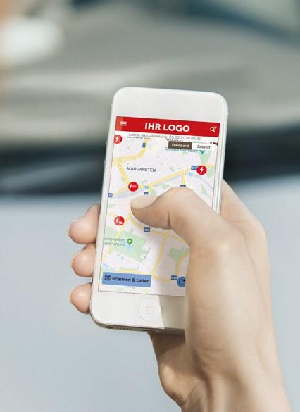 Smartphone white label app