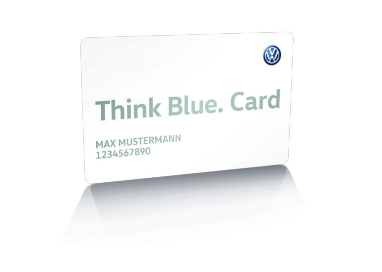 Think Blue Card