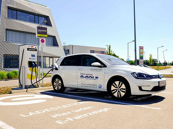 E-Golf Ladestation