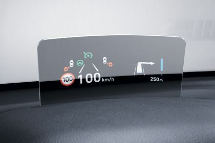 Hyundai Kona Elektro Head-up-display