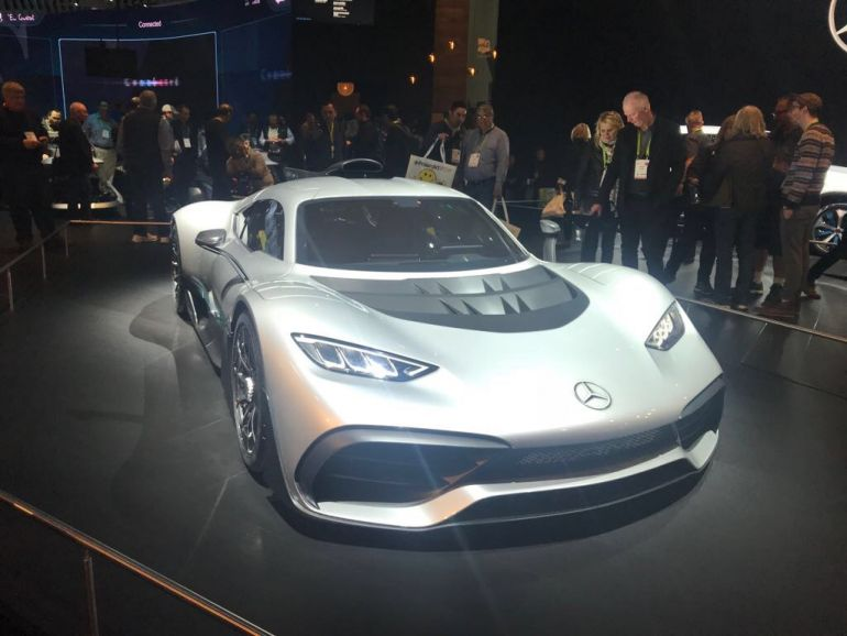 Mercedes AMG Concept ONE