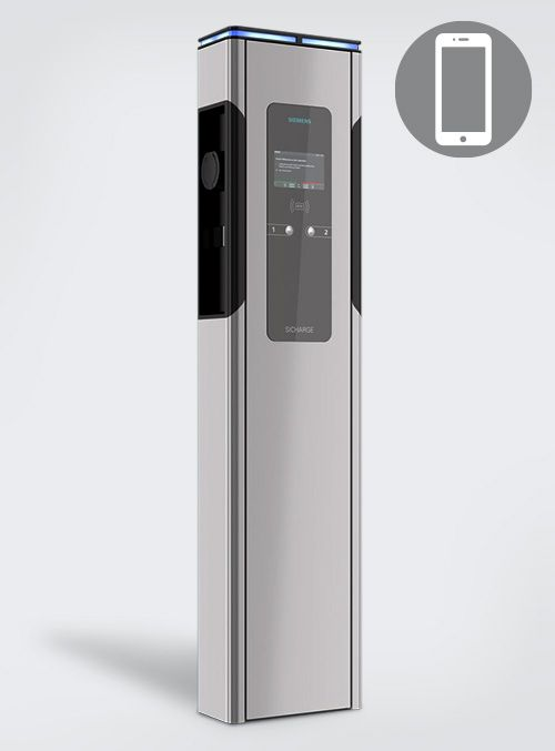 siemens si charge smartphone laden