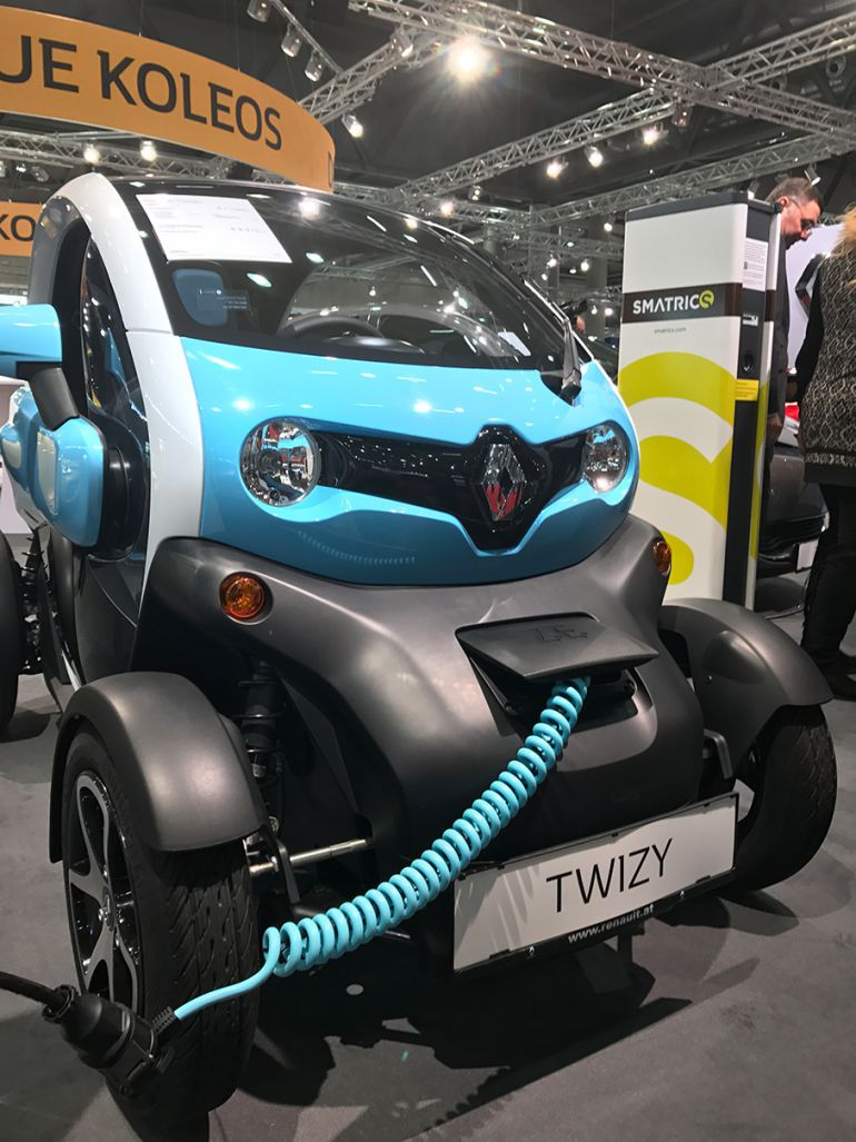Twizy Blue Intens