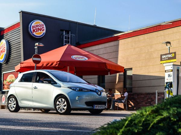 SMATRICS Ladestation Burger King