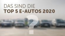 Top 5 E-Autos 2020