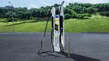 SMATRICS mobility+ HPC Elektro-Ladesäule